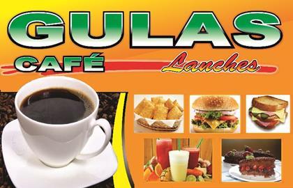 Logomarca Gulas Café e Lanches em Torres / RS