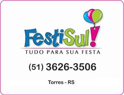 Logomarca FestiSul - Tudo para sua Festa em Torres / RS