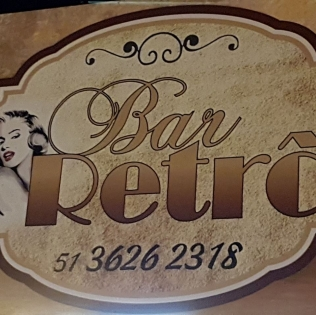 Logomarca Bar Retrô Lancheria e Petiscaria em Torres / RS