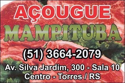 Logomarca Casa de Carnes Açougue Mampituba em Torres / RS