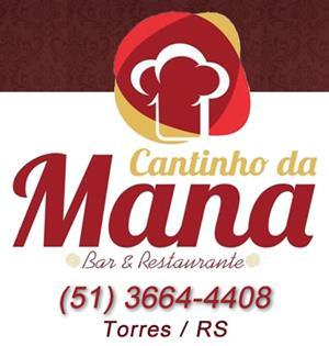 Logomarca Bar e Restaurante Cantinho da Mana em Torres / RS