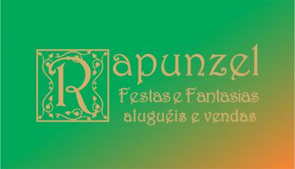 Logomarca Rapunzel Festas e Fantasias Alugeis e Vendas em Torres / RS