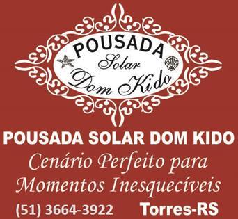 Logomarca Pousada Solar Dom Kido em Torres / RS