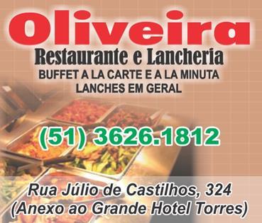 Logomarca Oliveira Restaurante e Lancheria em Torres / RS