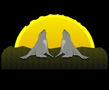 Logomarca Pousada Ilha dos Lobos em Torres / RS