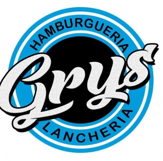 Logomarca Grys Hamburgueria e Lancheria em Torres / RS