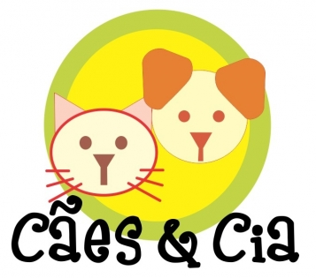 Logomarca Cães e Cia - Clínica Veterinária em Torres / RS
