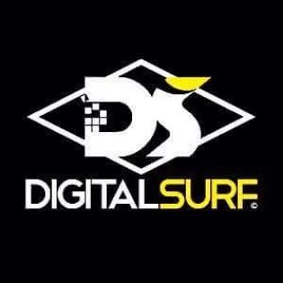 Logomarca Digital Surf moda feminina masculina e Surf Skate Shop em Torres / RS
