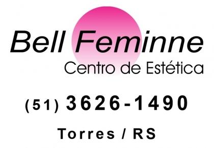 Logomarca Bell Feminne Centro de Estética em Torres / RS