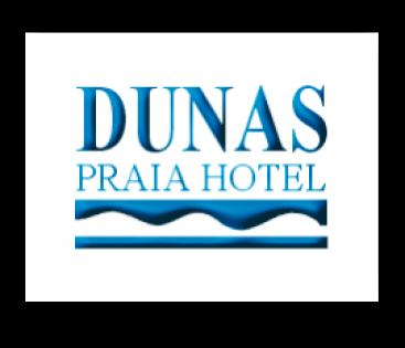 Logomarca Dunas Praia Hotel em Torres / RS