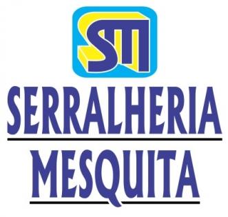 Logomarca Serralheria Mesquita esquadrias em ferro e aço em Torres / RS