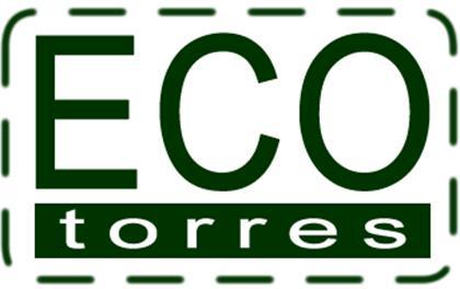 Logomarca Eco Torres produtos naturais integrais e orgânicos em Torres / RS
