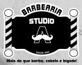 Logo Barbearia Studio A barber shop <span>em Torres / RS</span>