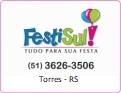 Logo FestiSul - Tudo para sua Festa <span>em Torres / RS</span>