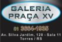 Logo Galeria Praça XV <span>em Torres / RS</span>