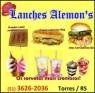 Logo Lanches Alemons <span>em Torres / RS</span>