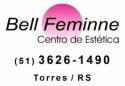 Logo Bell Feminne Centro de Estética <span>em Torres / RS</span>
