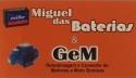 Logo Miguel das Baterias venda manutenção e carga baterias <span>em Torres / RS</span>