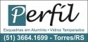 Logo Perfil Vidros e Alumínios - Esquadrias Vidro Temperado <span>em Torres / RS</span>
